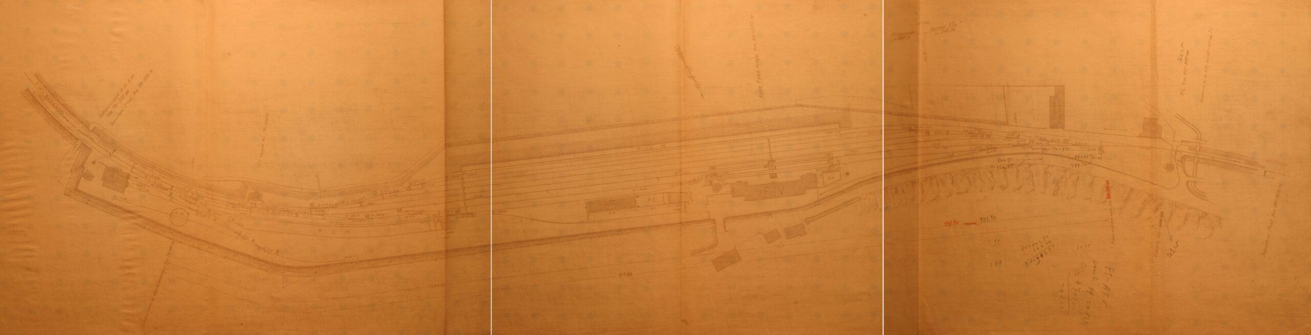 Stazione Primolano piano generale